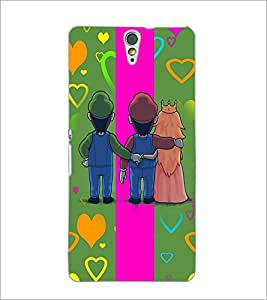 PrintDhaba Betrayed Love D-2476 Back Case Cover for SONY XPERIA C5 ULTRA (Multi-Coloured)