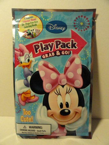 Play Pack Grab & Go - Minnie Mouse