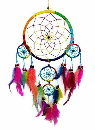Handmade Dream Catcher Wall Hanging Ornament (With a Betterdecor Gift Bag)-bl95