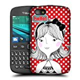 Head Case Designs Hyung Hi Hello Protective Snap-on Hard Back Case Cover for BlackBerry 9720