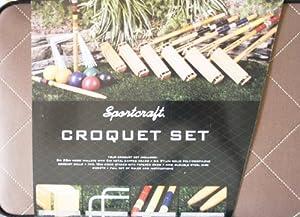 Buy Sportcraft 6 Player Croquet Set by Sportcraft
