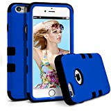 iPhone 6S Plus Case, MagicMobile® Hybrid Rugged Rubber Hard Glossy Plastic Protective Case for Apple iPhone 6S...
