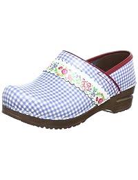 Sanita Women's Athena Slides Sandals, Light Blue