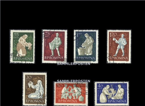 [Romania 1934-1940 (complete.issue.) 1960 Viticulture, winemaker in Costumes (Stamps for collectors)] (Winemaker Costume)