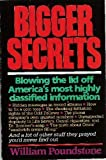 Bigger Secrets (0395453976) by Poundstone, William