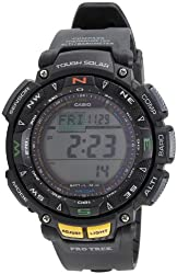 Casio Outdoor Digital Grey Dial Mens Watch - PRG-240-1DR (SL47)