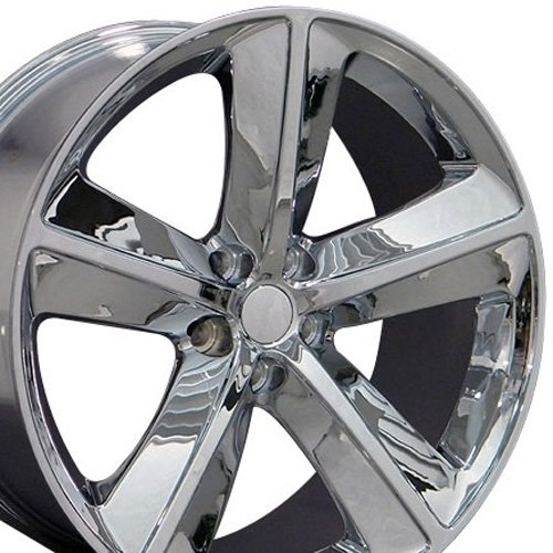 20x9 Wheel Fits Dodge - Challenger SRT Style Chrome Rim (Rims For Dodge Charger 2008 compare prices)