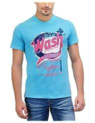 Yepme Men's Graphic Cotton T-shirt -YPMTEES0017-$P