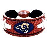 St. Louis Rams Classic NFL Football Bracelet