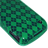 Amzer Luxe Argyle Skin Case for BlackBerry Curve 8520 Gemini - Green