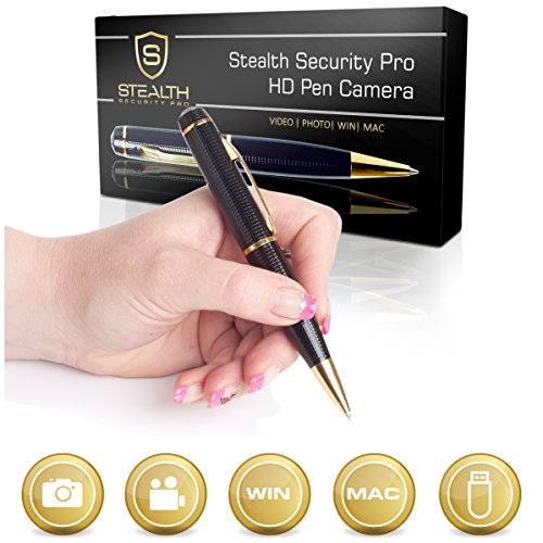 32GB-HD-Spy-Pen-Camera-100-Min-Video-Audio-Recorder-FREE-32GB-Memory-Card-5-Extra-Ink-Refills-Professional-Secret-Mini-Digital-Security-Pencil-With-Tiny-Undetectable-Cam-For-Hidden-Covert-Spying