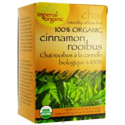 Uncle Lee'S Imperial Organic Tea - Chai  With Cinnamon Rooibos, 18-Count (Pack Of 4)