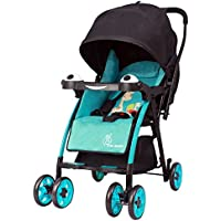 R for Rabbit Poppins - An Ideal Pram - Baby Stroller for Moms (Blue Black)