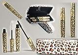Magic Leopard Lashes Fiber Waterproof Mascara Brush Eye Black Long Make up Eyelash Grower makeup tools mascara waterproof