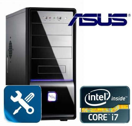 Tronics24 AufrüstPC Intel Core i7 3770 (Quadcore) Ivy Bridge 4x 3.4 GHz |ASUS P8B75-M LX USB3| 4 GB DDR3 1333 MHz |Office PC