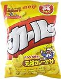 (お徳用ボックス) 明治製菓 カール元祖カレーがけ 73g×10個