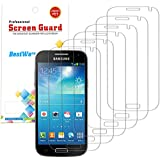 6X Film Protection Galaxy S4 Mini Tranparent, Protection d'écran Pour Samsung S4 Mini Ultra Clear Bestwe