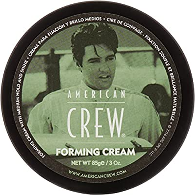 Bundle-7 Items: American Crew, Forming Cream 3 Ounce, Daily Shampoo & Conditioner 8.45 Oz, & Swago Cologne Wipe Sample Pack