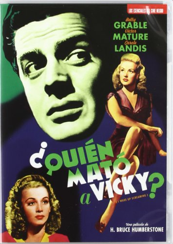 Quién Mató A Vicky? (I Wake Up Screaming) [DVD]