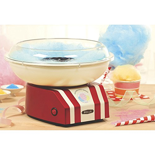 Check Out This Bella Cotton Candy Maker, Red & White Model 11407