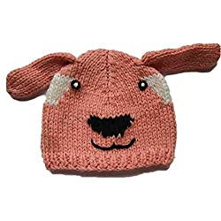 Comfy Animal Knit Beanie Hat for Kids & Adults for Fall Winter or Costume from Twinklebelle Design Inc