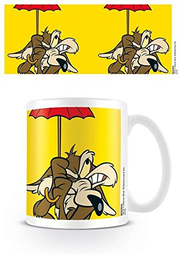 Looney Tunes - Tazza in ceramica, motivo: Wile E. Coyote