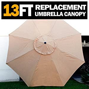 Amazon New 13 FT Market Patio Garden Umbrella