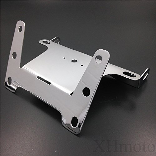 Motorcycle Chrome Fender Eliminator Tidy Tail Fit For 2004-2006 Kawasaki Ninja Zx10R Zx-10R