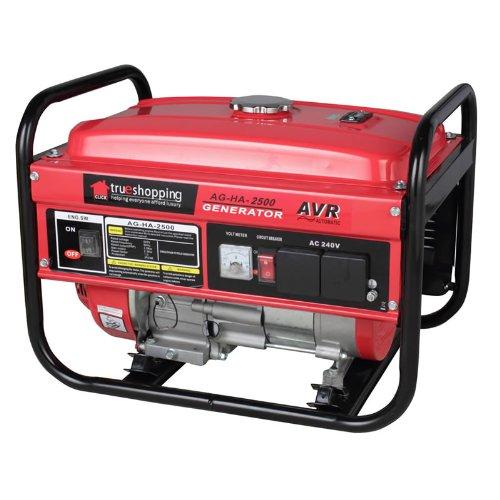 NEW TRUESHOPPING® POWERFUL HEAVY DUTY PETROL GENERATOR 2.2KVA 2200W 6.5HP