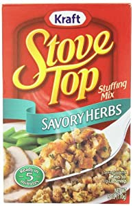 Stove Top Stuffing Mix, Savory Herb, 6-Ounce Boxes (Pack of 12)