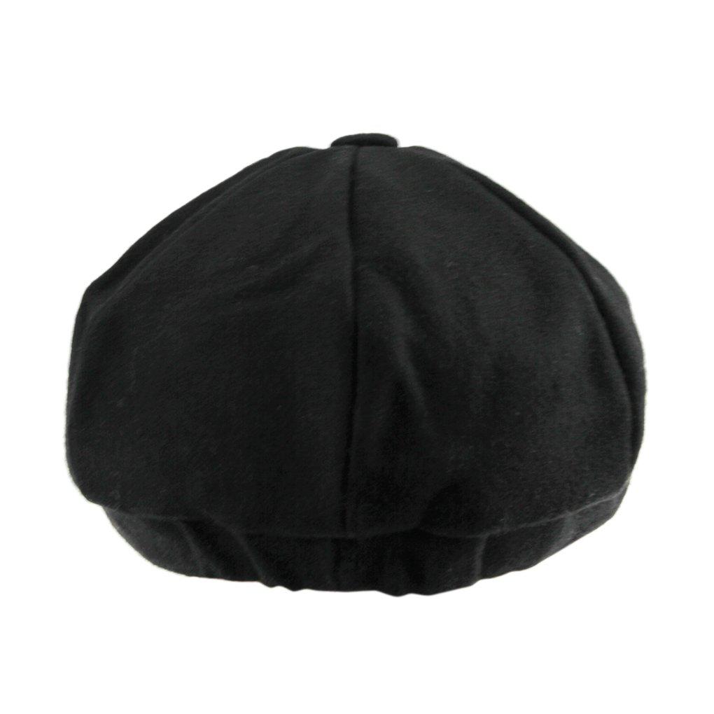 Unisex Winter Warm Baker Boy Newsboy Flat Cap Cheviot Tweed Beret Ivy Cabbie Cap Hat 2