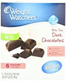 Whitmans Weight Watchers Bite Size Chocolates, Solid Dark, 5.25 Ounce