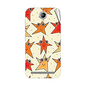 Garmor Designer Mobile Skin Sticker For Gionee P2S - Mobile Sticker