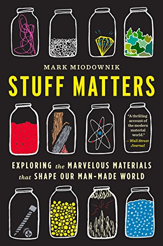 Stuff Matters: Exploring the Marvelous Materials That Shape Our Man-Made World by Mark Miodownik cover