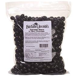 Dark Chocolate Espresso Beans – 5lb Bulk Bag – Dilettante
