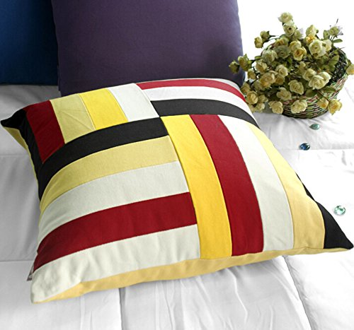 Stripe Dekorative Kissen Dekorative Kissenbezug aus Baumwolle Kissen Multicolor -