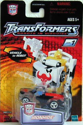 Transformers Robots in Disguise Spy Changers Clear Ironhide - 1