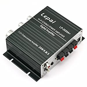 Lepai TA2020 Tripath Class-T Hi-Fi Audio Mini Amplifier with Power Supply