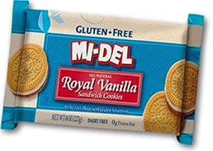 Mi Del Sandwich Cookies, Vanilla, 8 Ounce
