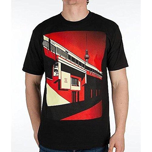(オベイ) obey メンズ トップス Tシャツ OBEY Berlin Tower T-Shirt 並行輸入品