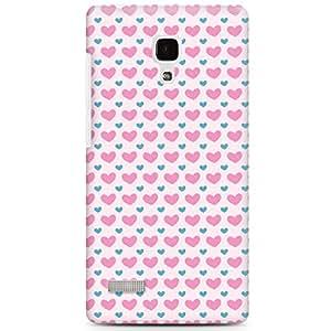 CASE U Heart-O-Heart Pattern Designer Case for Xiaomi Redmi Note