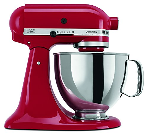 Kitchenaid Ksm150Pser 5 Qt. Artisan Series With Pouring Shield - Empire Red front-230492