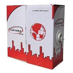 Kloner KC02 - Cable de red bobina, en caja individual (100 m), color gris