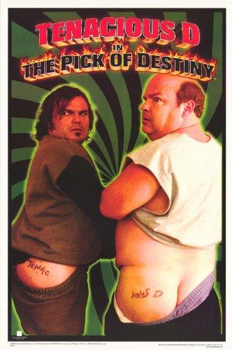 Tenacious D Poster Jack Black Kyle Gass The Pick Of Destiny