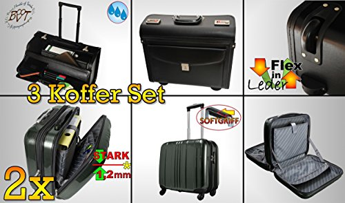 3 x trolley ger umig hardcase koffer premium. Black Bedroom Furniture Sets. Home Design Ideas