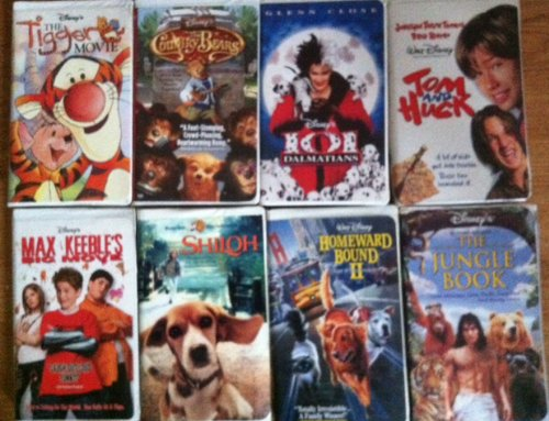 Walt Disney 8 Pack VHS - 101 Dalmations, The Country Bears, Tom and Huck, Homeward Bound II, The Jungle Book, The Tigger Movie, Max Keebles and Shiloh (Country Bears Vhs compare prices)