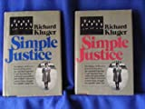 Simple Justice: The History of Brown v. Board of Education and Black America's Struggle for Equality (0394472896) by Richard Kluger