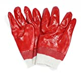 Kelly's Eye One Size Red PVC Cellar Gloves