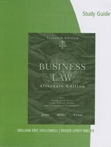 Law For Business, 11th edition, Barnes, Dworkin and Richards, ISBN 9780073377711