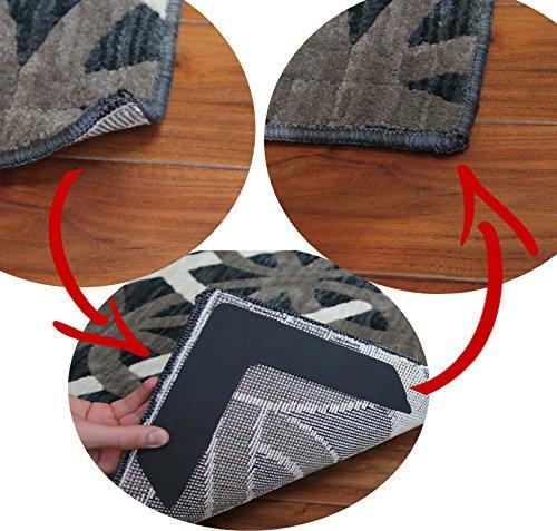 nevercurl instantly stops rug corner curling safe for wood floors for indoor outdoor rugs. Black Bedroom Furniture Sets. Home Design Ideas
